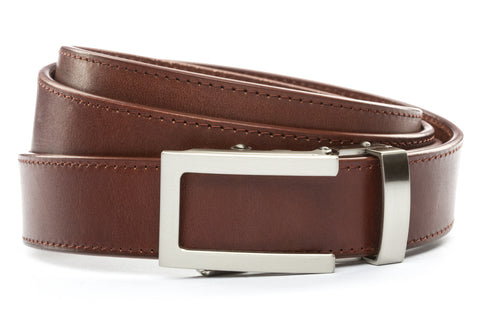 1-25-quot-traditional-buckle-in-silver 1-25-quot-picante-vegetable-tanned-leather-strap