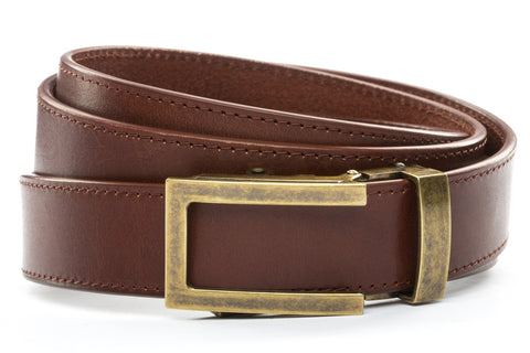 1-25-quot-traditional-buckle-in-antiqued-gold 1-25-quot-picante-vegetable-tanned-leather-strap