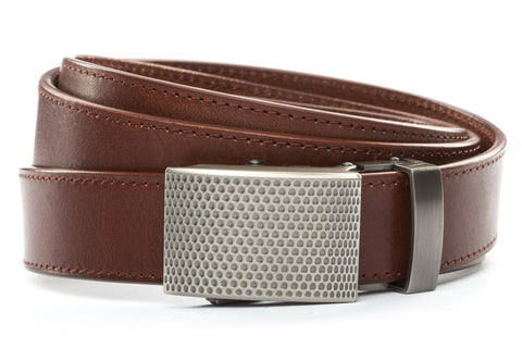 1-25-quot-anson-golf-buckle-in-gunmetal 1-25-quot-picante-vegetable-tanned-leather-strap