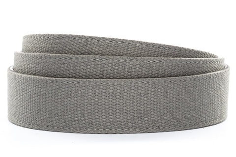 "1.5"" Grey Canvas Strap - Anson Belt & Buckle"