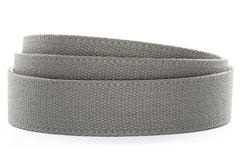 "1.5"" Grey Canvas Strap"