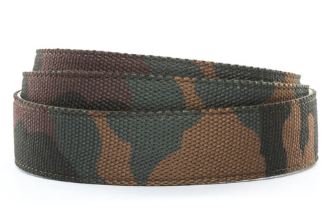 "1.5"" Camo Canvas Strap - Anson Belt & Buckle"
