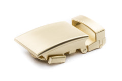 "1.25"" Classic Buckle in Matte Gold"