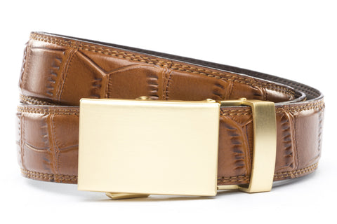 1-25-quot-classic-buckle-in-matte-gold 1-25-quot-light-brown-faux-croc-strap