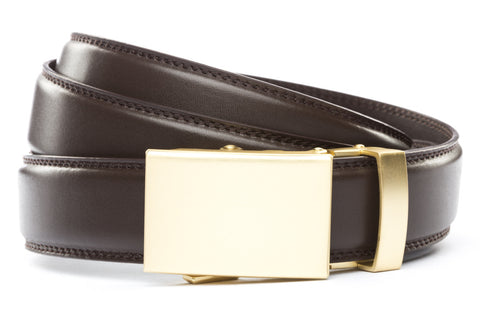 1-25-quot-classic-buckle-in-matte-gold 1-25-quot-dark-brown-leather-strap
