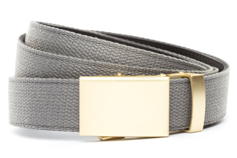 1-25-quot-classic-buckle-in-matte-gold 1-25-quot-grey-canvas-strap