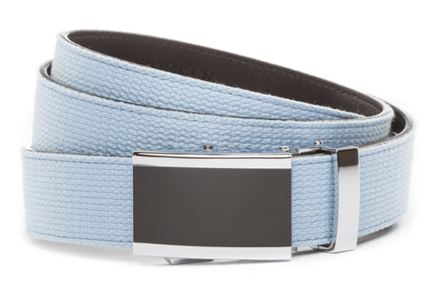 1-25-quot-onyx-buckle 1-25-quot-light-blue-canvas-strap