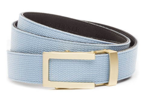 1-25-quot-traditional-buckle-in-matte-gold 1-25-quot-light-blue-canvas-strap