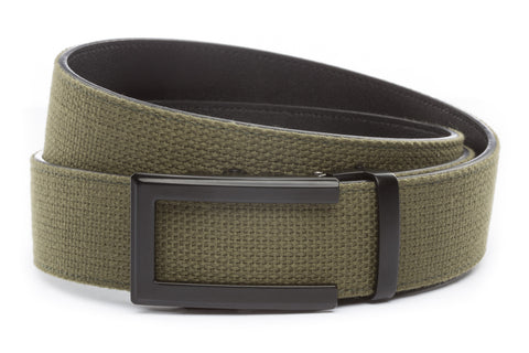 1-5-quot-traditional-buckle-in-black 1-5-quot-olive-drab-canvas-strap