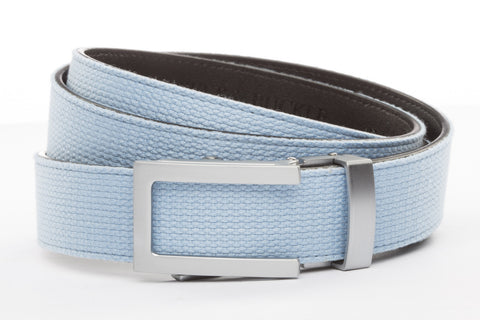 1-25-quot-traditional-buckle-in-silver 1-25-quot-light-blue-canvas-strap