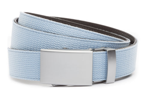 1-25-quot-classic-buckle-in-silver 1-25-quot-light-blue-canvas-strap