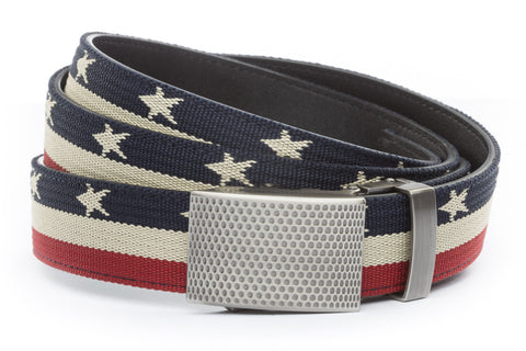 1-25-quot-anson-golf-buckle-in-gunmetal 1-25-quot-stars-and-stripes-canvas-strap
