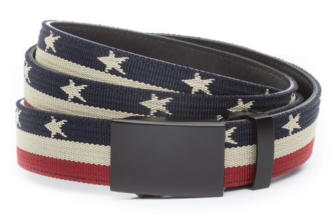 1-25-quot-classic-buckle-in-black 1-25-quot-stars-and-stripes-canvas-strap