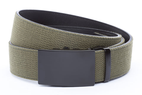 1-5-quot-classic-buckle-in-black 1-5-quot-olive-drab-canvas-strap