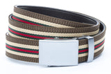 1-25-quot-classic-buckle-in-silver 1-25-quot-green-red-stripe-w-trim-cloth-strap
