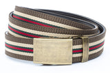 1-25-quot-classic-buckle-in-antiqued-gold 1-25-quot-green-red-stripe-w-trim-cloth-strap