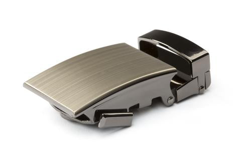 "**FACTORY SECOND** 1.25"" Classic Buckle in Formal Gunmetal - Anson Belt & Buckle"