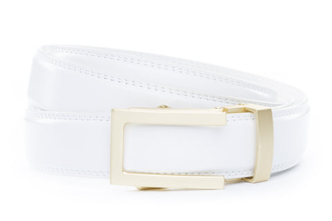 1-25-quot-traditional-buckle-in-matte-gold 1-25-quot-white-leather-strap