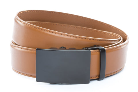 1-5-quot-classic-buckle-in-black 1-5-quot-saddle-tan-leather-strap