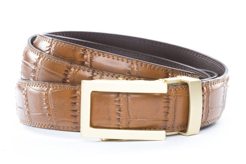 1-25-quot-traditional-buckle-in-matte-gold 1-25-quot-light-brown-faux-croc-strap