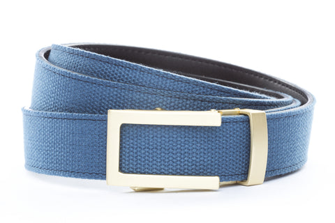 1-25-quot-traditional-buckle-in-matte-gold 1-25-quot-black-canvas-strap