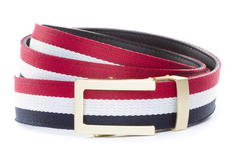 1-25-quot-traditional-buckle-in-matte-gold 1-25-quot-red-white-blue-cloth-strap