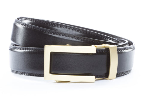 1-25-quot-traditional-buckle-in-matte-gold 1-25-quot-black-leather-strap
