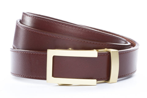 1-25-quot-traditional-buckle-in-matte-gold 1-25-quot-picante-vegetable-tanned-leather-strap
