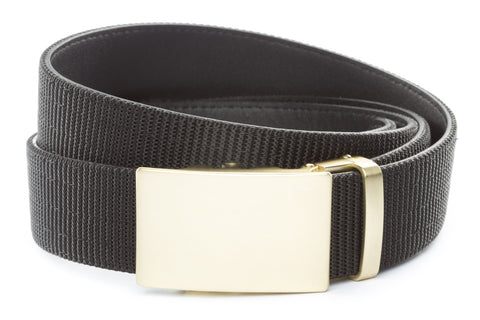 1-5-quot-classic-buckle-in-matte-gold 1-5-quot-black-nylon-strap