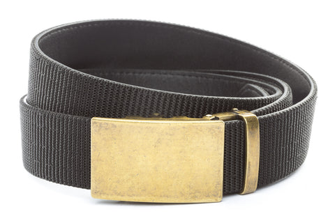 1-5-quot-classic-buckle-in-antiqued-gold 1-5-quot-black-nylon-strap