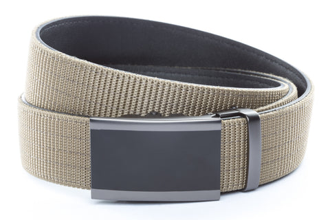 1-5-quot-onyx-buckle-in-smoked-gunmetal 1-5-quot-desert-tan-nylon-strap