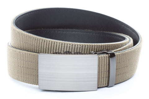 1-5-quot-classic-buckle-in-formal-gunmetal 1-5-quot-desert-tan-nylon-strap