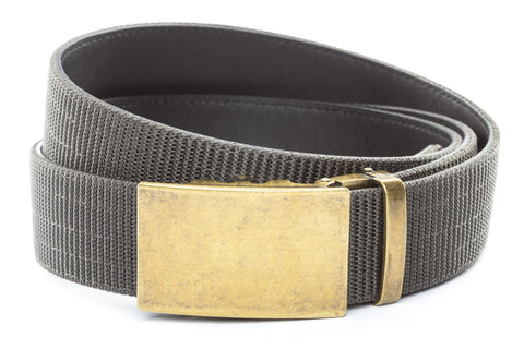 1-5-quot-classic-buckle-in-antiqued-gold 1-5-quot-graphite-nylon-strap