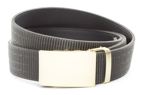 1-5-quot-classic-buckle-in-matte-gold 1-5-quot-graphite-nylon-strap