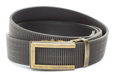 1-5-quot-traditional-buckle-in-antiqued-gold 1-5-quot-graphite-nylon-strap