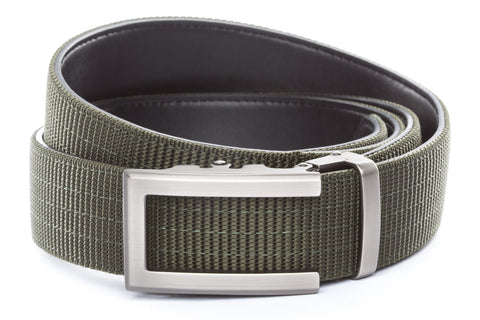 1-5-quot-traditional-buckle-in-gunmetal 1-5-quot-olive-drab-nylon-strap
