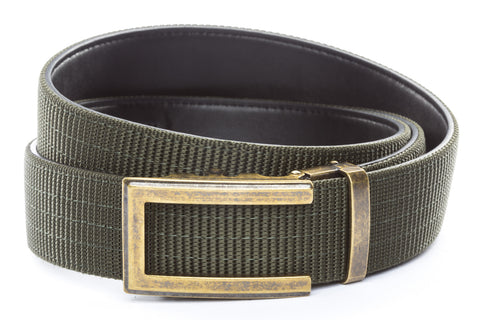 1-5-quot-traditional-buckle-in-antiqued-gold 1-5-quot-olive-drab-nylon-strap