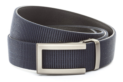 1-5-quot-traditional-buckle-in-gunmetal 1-5-quot-navy-nylon-strap