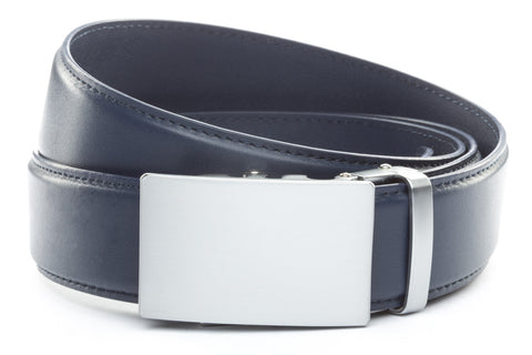1-5-quot-classic-buckle-in-silver 1-5-quot-navy-leather-strap