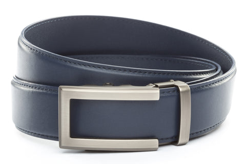 1-5-quot-traditional-buckle-in-gunmetal 1-5-quot-navy-leather-strap