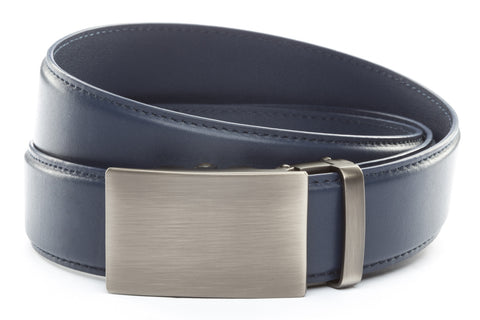 1-5-quot-classic-buckle-in-gunmetal 1-5-quot-navy-leather-strap