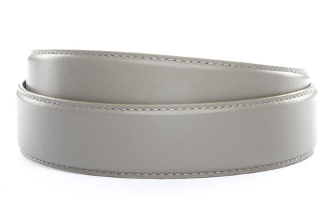 "1.5"" Grey Leather Strap - Anson Belt & Buckle"