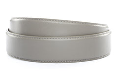 "1.5"" Grey Leather Strap"