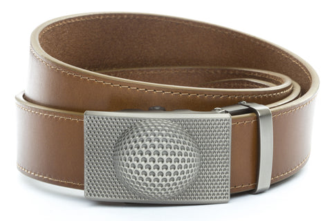 1-5-quot-anson-golf-buckle-in-gunmetal 1-5-quot-light-brown-vegetable-tanned-leather-strap