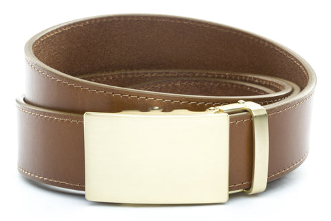 1-5-quot-classic-buckle-in-matte-gold 1-5-quot-light-brown-vegetable-tanned-leather-strap