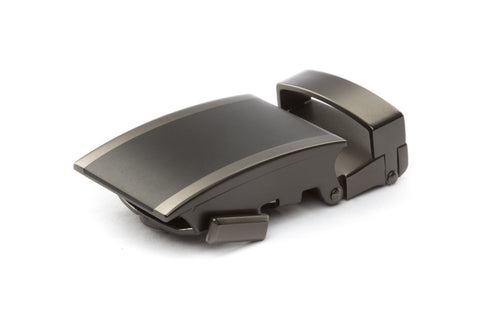 "1.25"" Onyx Buckle in Matte Gunmetal"