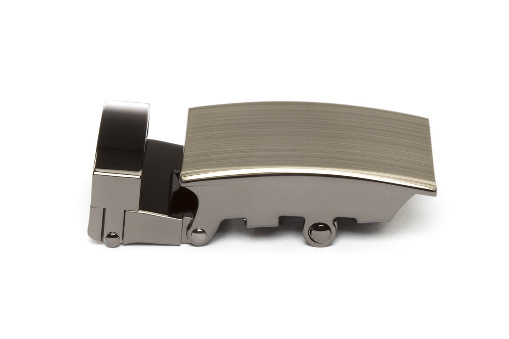 "1.25"" Classic Buckle in Formal Gunmetal"