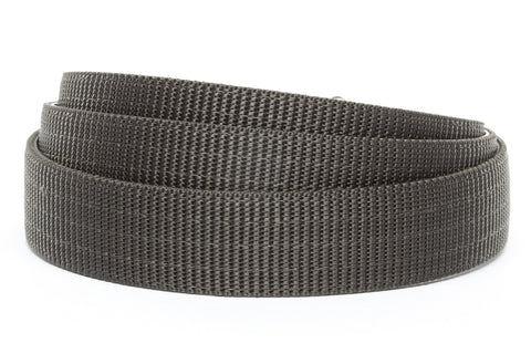 "1.25"" Graphite Nylon Strap - Anson Belt & Buckle"