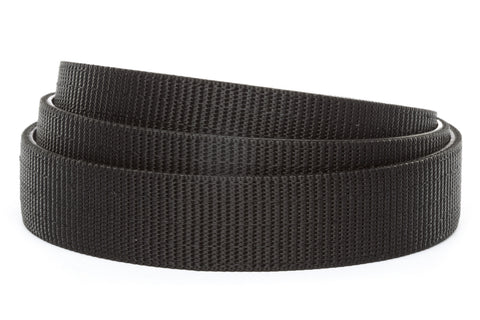 "1.25"" Black Nylon Strap - Anson Belt & Buckle"