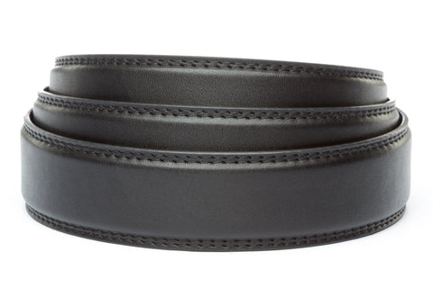 "1.25"" Black Micro Strap - Anson Belt & Buckle"